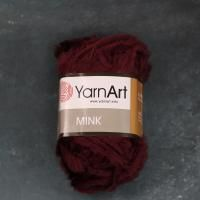 Yarn Art MINK (339 бордовый ) 100% Полиамид 50 гр/75 м фото